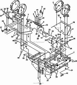 Bunton  Bobcat  Ryan 942509g Predator Pro 30hp Gen Lp W  61 Side Discharge Parts Diagram For