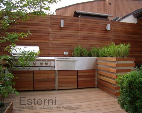 cucine da terrazzo cucina per esterni design pannelli termoisolanti