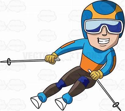 Skier Clipart Cartoon Clipground