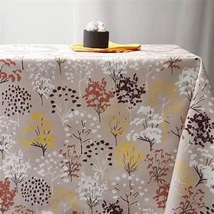 Nappe Toile Enduite : nappe enduite arbre jaune ~ Teatrodelosmanantiales.com Idées de Décoration
