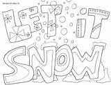 Coloring Snow Plow Pages Printable Getcolorings sketch template