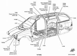Exterior Auto Body Parts Diagram