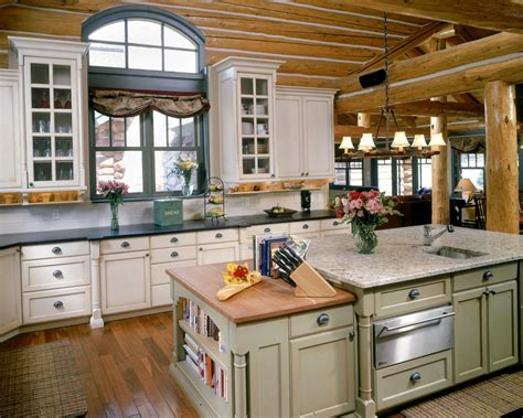 cabin kitchen design ideas kitchen rustic cabis for log homes designs ideas 5047
