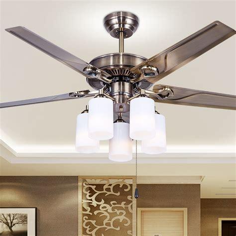 Bedroom Fan Lights by Ceiling Fan Led Ceiling Fans European Style Retro Iron