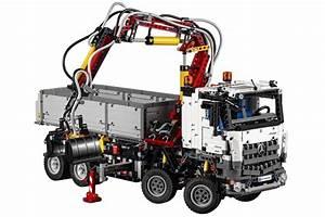Lego Technic Camion : lego technic d voile le mercedes benz arocs 3245 ~ Nature-et-papiers.com Idées de Décoration
