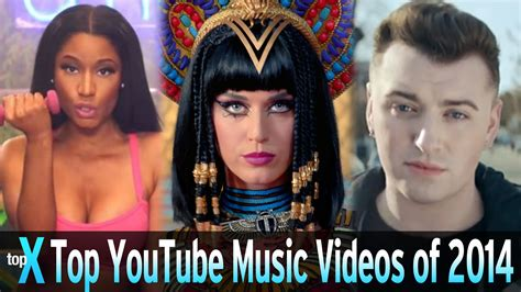 Top 10 Youtube Music Videos Of 2014