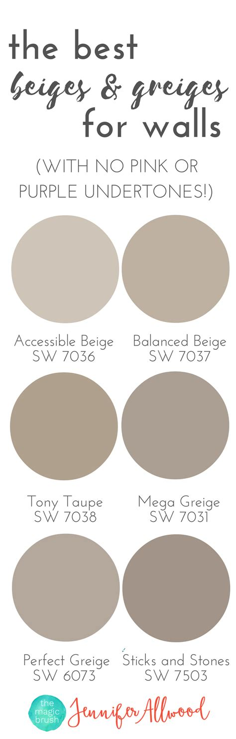 the best beige and greige wall paints for walls magic