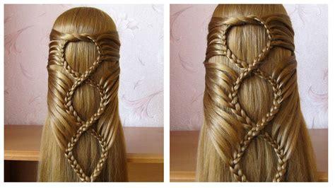 coiffure avec tresse belle coiffure facile  faire