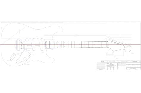 The Pdf Template Fender Stratocaster Standerd Headstock by 33 Stratocaster Templates Stratocaster Mdf Guitar Body