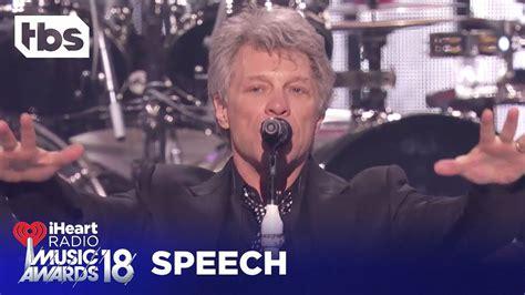 Bon Jovi Iheartradio Music Awards Acceptance