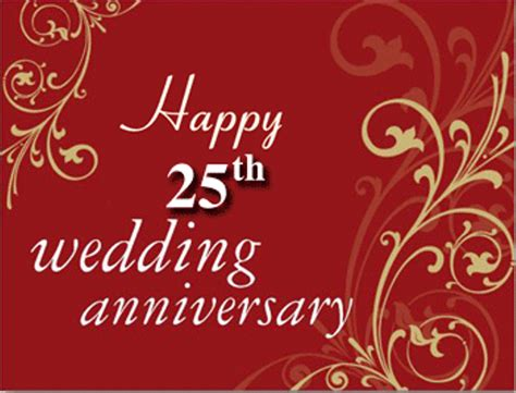 25 wedding anniversary 25th anniversary wishes wishes greetings pictures wish guy