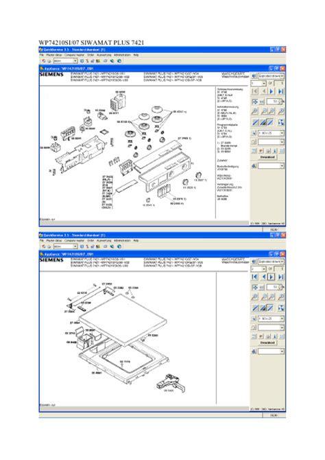 lave linge en anglais siemens wp75210 01 manuel de service t 233 l 233 charger pdf lave linge anglais