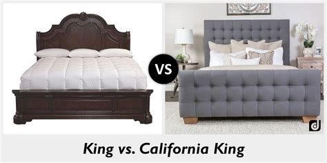 32734 california king size bed difference between king and california king