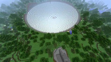 minecraft goldeneye satellite dish arecibo youtube