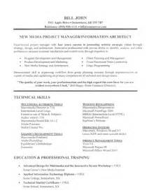 functional resume template 2017 word art it project manager resume exle ba pmp wfm
