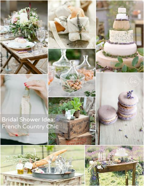 Bridal Shower Theme French Country Chic  Bajan Wed