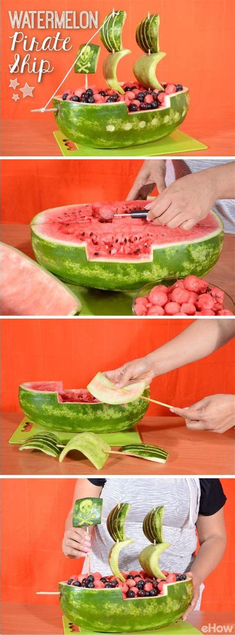 Watermelon Boats Play by Best 25 Watermelon Carving Ideas On
