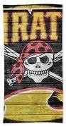 Pittsburgh Pirates Barn Door Mixed Media by Dan Sproul