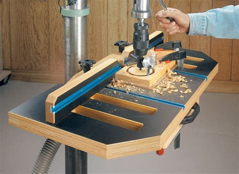 woodworking drill press table woodworking project