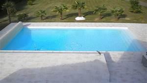 Piscine Sans Margelle : la margelle plate pour votre contour de piscine plages ~ Premium-room.com Idées de Décoration