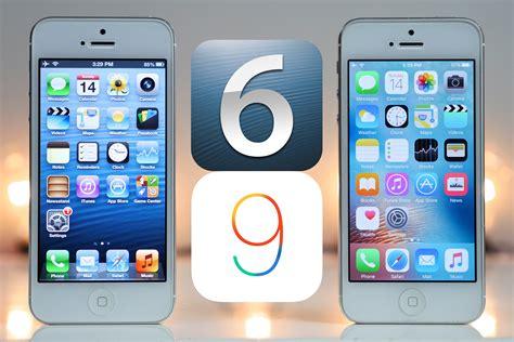 iphone 6 ios ios 6 vs ios 9 is planned obsolescence a myth