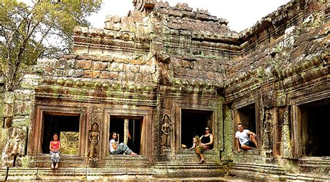 The Angkor Temples And The Angkor Wat With Kids