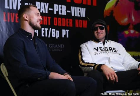Deontay Wilder And Tyson Fury Final Press Conference ...