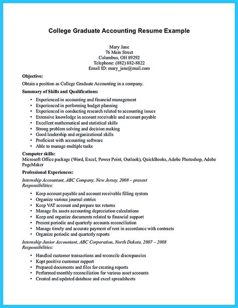 Accounting Resume Sles Canada by Accounting Student Resume Here Presents How The Resume Of