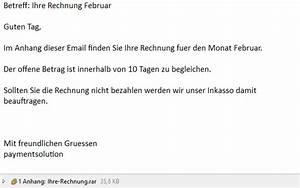 Wir Bezahlen Deine Rechnung : ihre rechnung februar von paymentsolution tr gt malware ~ Themetempest.com Abrechnung