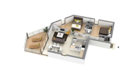 cours de cuisine cotes d armor visite 3d de l 39 appartement neuf 21 en vente projet