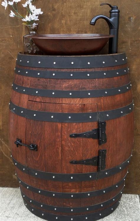 Awesome Bar Stools by Awesome Wine Barrel Furniture Ideas That You Will Have To See