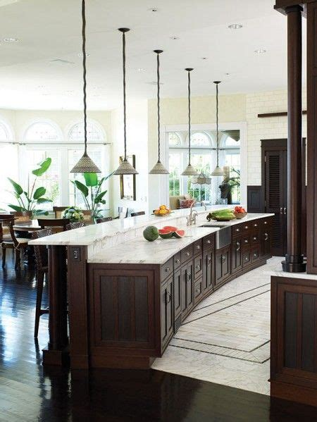 how to install kitchen island 25 best ideas about curved kitchen island on 7263