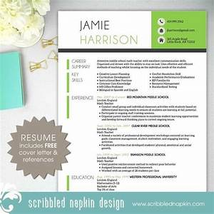 teacher resume template resume with free cover letter With teacher resume template free download
