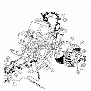 Engine - As11 Fe350 Engine  U2013 Ignition Components And Flywheel