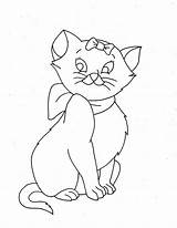 Coloring Pages Cat Cats Printable sketch template