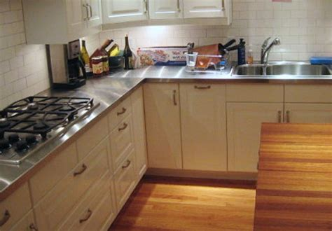 Stainless Steel Countertops Home Depot modern kitchen with stainless steel countertops the 1st