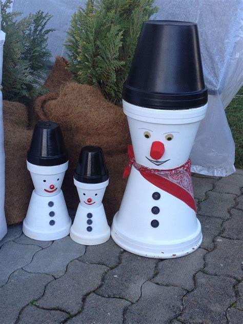 Weihnachtsdeko Selbst Gemacht by Kleine Schneem 228 Nner Aus Tont 246 Pfe Selbst Gemacht