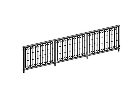 revitcitycom object wrought iron railing
