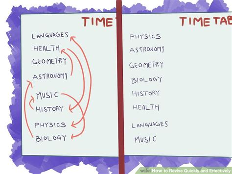 8 Ways To Revise Quickly And Effectively Wikihow