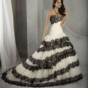 new fashion white and black wedding dresses lace mermaid With black dress to wear to a wedding