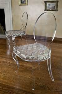 Acrylic and Lucite Chairs