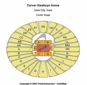 Carver Hawkeye Arena Tickets Carver Hawkeye Arena In
