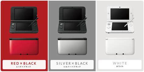3ds xl colors image nintendo 3ds xl japan colors jpg nintendo 3ds