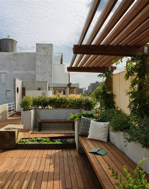 Landscape Design 10 Simple Layouts For Summer Roof
