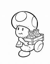 Mario Toad Coloring Pages Super Bros Friends Printable Drawing Nintendo Luigi Brothers Print Baby Squid Princess Peach Getcolorings Draw Celestia sketch template