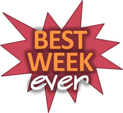 The Best Week Ever  The Practice Of Personal Productivity