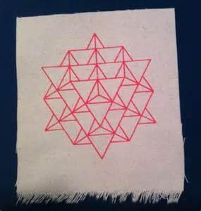 6 4 Star Tetrahedron Sacred Geometry
