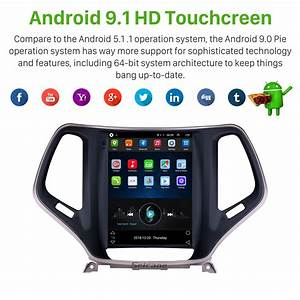 9 7 Inch Hd Touch Screen 2016 2017 2018 Jeep Cherokee