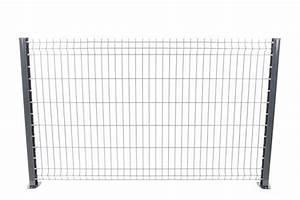 Grillage Souple Gris : kit panneaux rigides gris 30m pack grillage rigide gris ~ Melissatoandfro.com Idées de Décoration