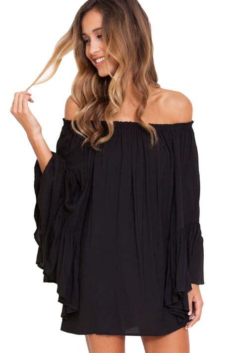 Long Sleeve Off the Shoulder Casual Dresses_Other dresses_dressesss